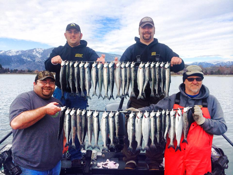 Kokanee Fishing
